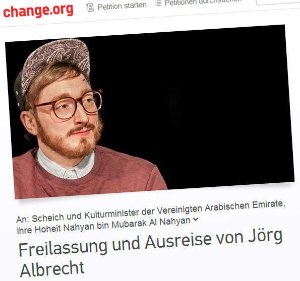 Petition auf change.org